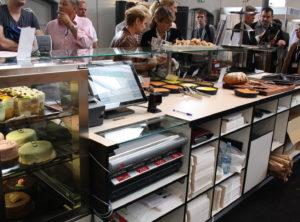 caisse sécurisée automatique cashguard en boulangerie