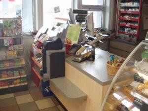 caisse sécurisée Cashguard en bureau de tabac