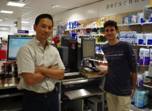 caisse sécurisée automatique cashguard en pharmacie