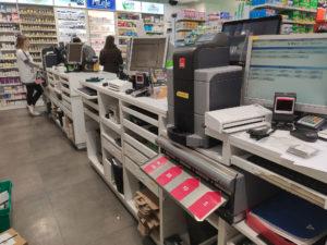caisse sécurisée automatique cashguard pharmacie